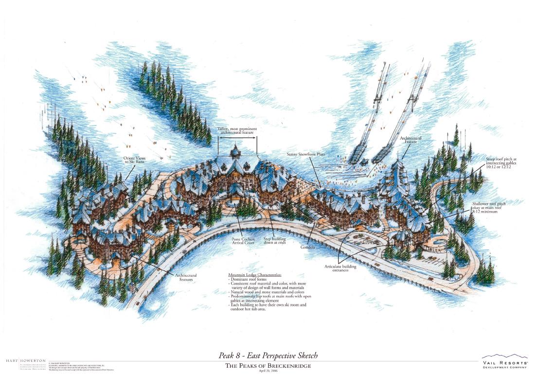 Mary hart design breckenridge master plan for Mountain plan